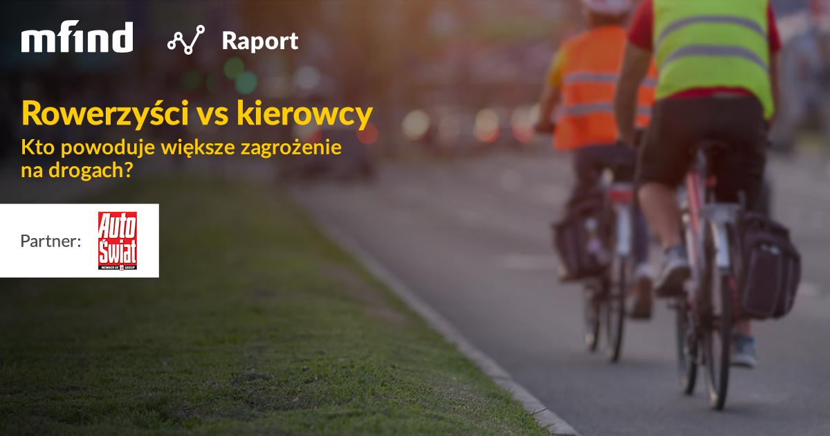 Raport: Rowerzyści i kierowcy na drogach. Kto stanowi większe zagrożenie?