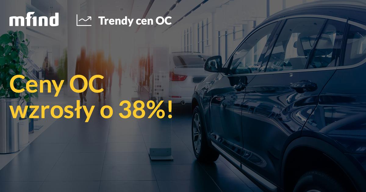 Ceny OC w górę o 38%. Pierwsza połowa 2016 roku przyniosła ogromne podwyżki składek!