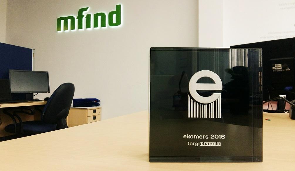 Mfind z Ekomersem 2016 za najlepszą obsługę klientów w mediach społecznościowych!